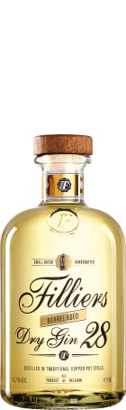 Filliers 28 Barrel Aged Dry Gin 50cl