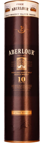 Aberlour 10 years Single Malt Giftset 1ltr