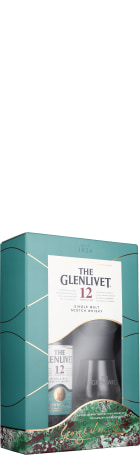 The Glenlivet 12 years Giftset 70cl