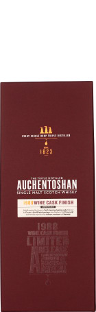 Auchentoshan 25 years 1988 Bordeaux Wine Cask LE 70cl