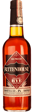 Rittenhouse Straight Rye 100 Proof 70cl