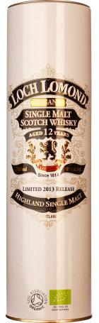 Loch Lomond 12 year Organic 2013 70cl