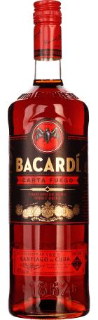 Bacardi Carta Fuego 1ltr