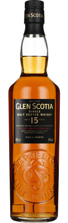 Glen Scotia 15 years Single Malt 70cl
