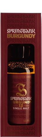 Springbank 12 years Burgundy Wood 70cl