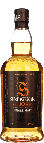 Springbank 10 years Single Malt 70cl
