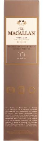 The Macallan 10 years Fine Oak 70cl