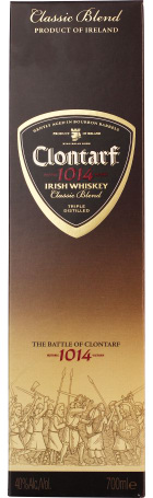 Clontarf Black Irish Classic Blend 70cl