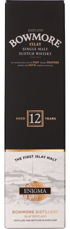 Bowmore 12 years Enigma 1ltr