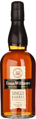 Evan Williams 2003 Single Barrel 70cl