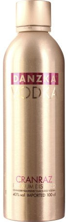 Danzka Cranraz Vodka 1ltr