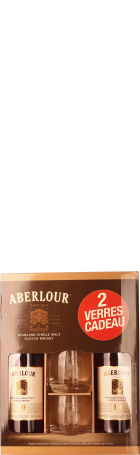Aberlour 10 years Single Malt Giftset 2x100c