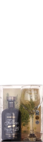 Filliers Dry Gin 28 Giftset 50cl