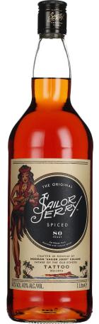 Sailor Jerry Spiced Rum 1ltr