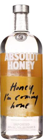 Absolut Honey 1ltr