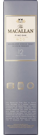 The Macallan 12 years Fine Oak 70cl
