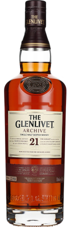 The Glenlivet 21 years Archive Single Malt 70cl