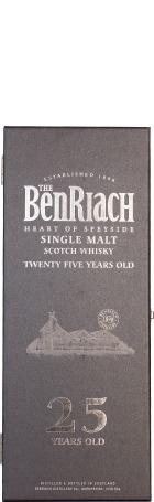 Benriach 25 years Single Malt 70cl