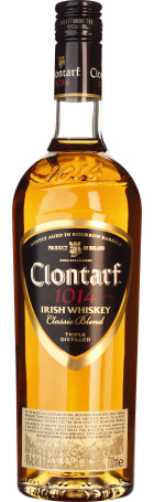 Clontarf Black Irish Classic Blend 70cl