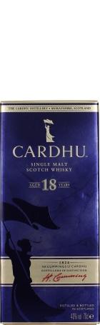 Cardhu 18 years Single Malt 70cl