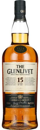 The Glenlivet 15 years 1ltr