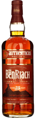 Benriach 25 years Authenicus Peated Malt 70cl