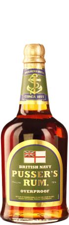 Pusser's Navy Rum Overproof 70cl