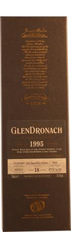 Glendronach 18 years 1995 Pedro Ximenez Sherry Cask 70cl