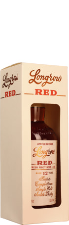Longrow Red 12 years Limited Edition Fresh Pinot Noir Cask 70cl