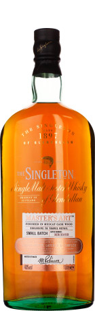 Singleton of Glendullan Master's Art Muscat Wood Finish 1ltr