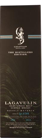 Lagavulin Distillers Edition 1999/2015 1ltr