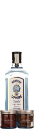 Bombay Sapphire Gin Botanical Giftset 70cl