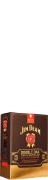 Jim Beam Double Oak Giftset 70cl