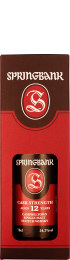 Springbank 12 years Cask Strength 2017 70cl