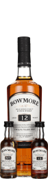 Bowmore Tasting Pack 12 & 15 years & No.1 Giftset 80cl