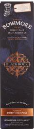 Bowmore Black Rock Slate Coaster Giftset 1ltr