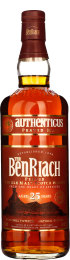 Benriach 25 years Authenticus Peated Malt 70cl