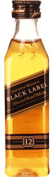 Johnnie Walker Black Label miniaturen