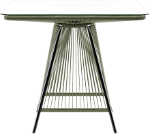 Outdoor table lanzarote green
