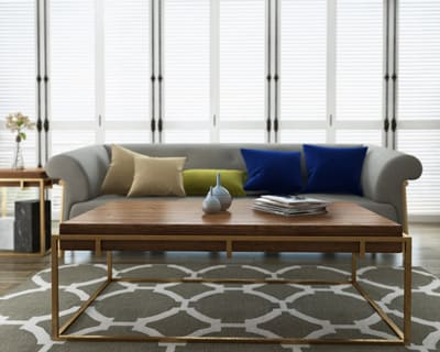 No assembly required coffee table sofa