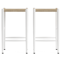 Sahara Set of 2 Bar Stools Low