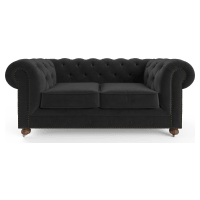 Notting Hill Velvet Chesterfield 2 Seater Sofa