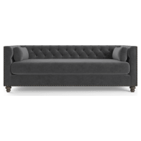 Florence Velvet Chesterfield 3 Seater Sofa