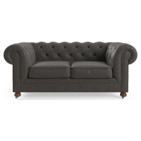Camden Chesterfield Leather 3 Seater Sofa