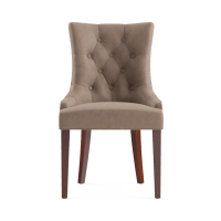 Espen® Leather Dining Chair Scoop Back