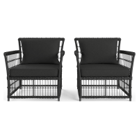 Naxos Wide Outdoor 2x Armchair