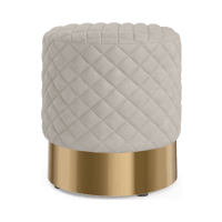 Odette Quilted Footstool