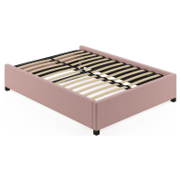 Double Size Upholstered Standard Bed Base