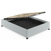 Double Size Upholstered Gaslift Bed Base