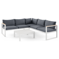 Malibu 5 Seater Outdoor Modular Sofa Set